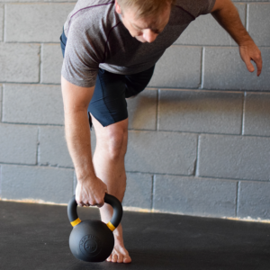 Kettlebell at Santa Fe Athletic Co.